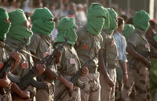 Colonel-Gaddafi-Tuareg-soldiers