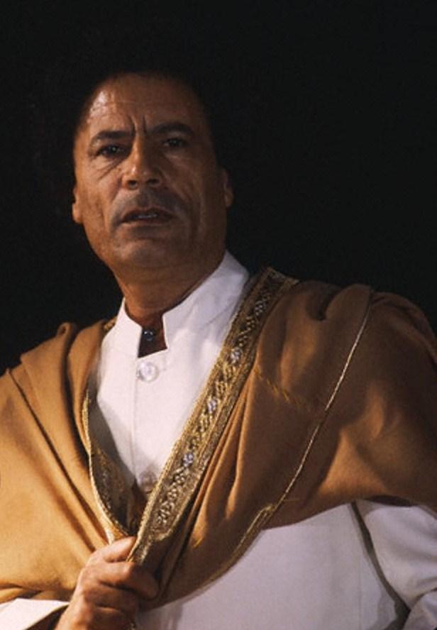 Libyan Leader Muammar al-Qaddafi