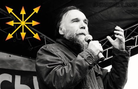 Aleksandr Dugin. New Right's fascist, white supremacist ideologue on the Russian front.