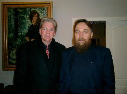 Dugin at the Konstantin Vassilev Gallery in Moscow with Nazi, David Duke