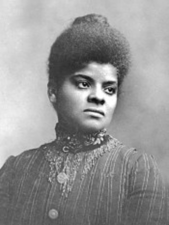 Ida Bell Wells-Barnett African-American investigative journalist, editor, suffragist, sociologist, an early leader in the Civil Rights Movement, active in women's rights, he women's suffrage movement, establishing several notable women's organizations and was among the original NAACP founders.