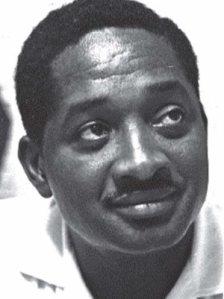 Guyanese Prime Minister Forbes Burnham